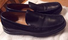 Cole Haan Nike Air Black Moc Toe Slip On Casual Loafers Driving Shoes Mens 9.5M
