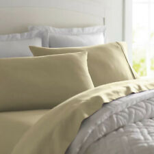 Deluxe Ultra Soft 800 Thread Count 100% Egyptian Cotton Solid Bed Sheet Set