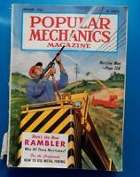 POPULAR MECHANICS MAGAZINE~january 1956-The NEW RAMBLER-WHY ALL THESE HURRICANES