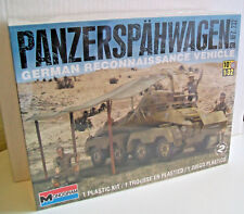 REVELL MONOGRAM 85-7856 PANZERSPAHWAGEN SD.KFZ.232 1:32 Scale Plastic Model Kit