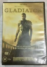 Gladiator (DVD, 2004) Region 4 Rated M15+