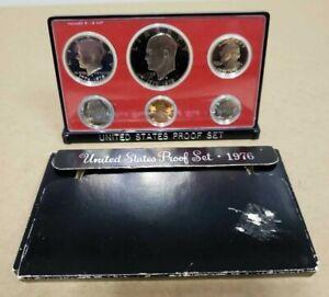 US Mint 1976 Annual 6 Coin Proof Set Bicentennial Year Original Box CDN SELLER !