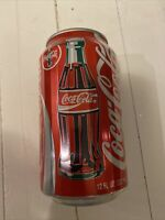 EXTREMELY RARE RIBBED Coca Cola Soda Pop Can 12oz Aluminum Can