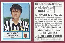 FIGURINA CALCIATORI PANINI 1983/84 - NUOVA/NEW N.9 MANICHINI - ASCOLI