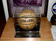 RAPTORS 2016 NBA ALL-STAR Team Signed Basketball W/Case+Exact Proof HARDEN-LOWRY