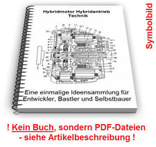 Hybridmotor Hybridantrieb selbst bauen - Hybrid Fahrzeug Motor Technik Patente