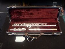 ARMSTRONG MODEL104 FLUTE with HARD CASE - silver plated - MADE IN USA