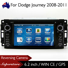 "6.2"" Car DVD GPS Navigation Head Unit Stereo Radio For Dodge Journey 2008-2011"