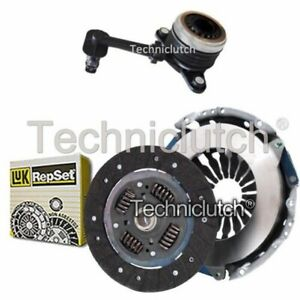 LUK 2 PART CLUTCH KIT WITH CSC FOR RENAULT MEGANE CONVERTIBLE 1.6 16V