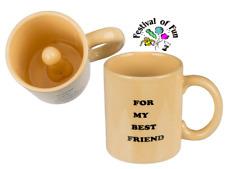 For My Best Friend Surprise Willy Mug ~ Naughty Fun Gift ~ Novelty Secret Santa