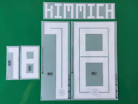 Set Flock Nameset Away Trikot Deutschland jersey shirt Germany 2018