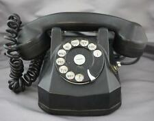 Automatic Electric Co. Desk Phone Rotary Dial Hold Toggle Switch Art Deco