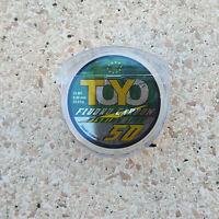 Fluorocarbon Toyo 15mt ø 0.80 - 33Kg , elevata invisibilità, mare, fiume, lago