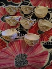 Pointons 447 England 21 pieces. Cups, saucers, small plates
