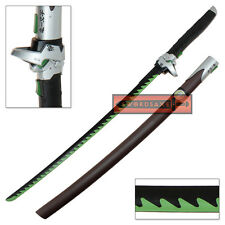 Overwatch Genji Sword Steel Katana Chrome Skin OW Metal Game Cosplay Replica 1:1