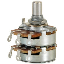 100k Audio Taper Stereo Potentiometer 14 Shaft