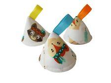 Pee Pee TeePee x3 / Wee Teepees Cones / Boy Baby Shower Gift / Fox Woodland Bear