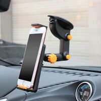 """360° Car Vehicle Windshield Suction Mount Holder Phone For GPS 7-11"""" iPad Tablet"""