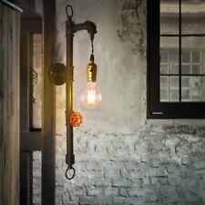 Nouveau Style industriel tuyau lumière Vintage Retro bougeoir lampe luminaires