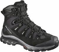 Salomon Authentic Men's Quest 4D 3 GTX Black Hiking Shoes 402455