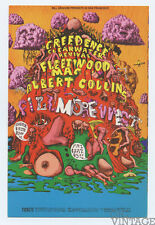 Bill Graham 156 Postcard Creedence Clearwater Revival Fleetwood Mac 1968 Jan 16