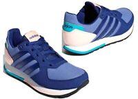 Adidas 8K B75730 Blu Scarpe da Ginnastica Bambin Comode
