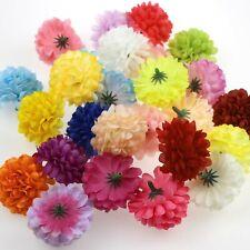 10X Artificial daisy Silk Floral Flower Head Bulk Hydrangea Wedding Fake flower