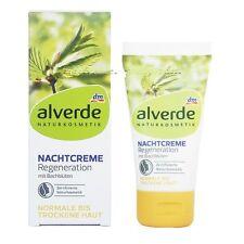 ALVERDE Natural Cosmetics Night Cream Regeneration with Bach Flower 50ml alverde
