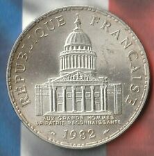 1982 France 100 Francs- 90% AG- Pantheon Issue- Beauty~