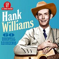 Hank Williams - 60 Essential Recordings [CD]