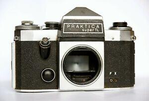 Praktica super TL film SLR body M42 mount 35mm GDR Germany