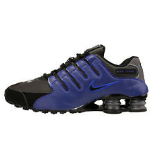 Nike Shox NZ 378341-041 Racer Blue Black Mens Sz 10