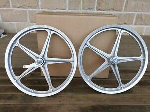 """70's Enkei 20"""" wheel set - Nankai - old school bmx"""