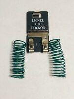 LIONEL CTC TRACK LOCKON train lock-on connector terminal tubular 6-62900 w/wire