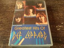 DEF LEPPARD - Greatest Hits CASSETTE TAPE / Hard Rock