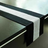 Diamante Table Runner Thick Velvet Chenille Satin Table Runner Small or Large