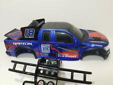 New Bright Ford F150 Raptor RC Crawler Hard Body Shell W/ Bumper Grill