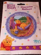 """NEW WINNIE THE POOH BIRTHDAY BEE YOURSELF 18"""" MYLAR BALLOON  PARTY SUPPLIES"""