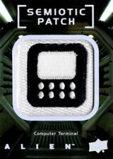 Alien Movie, Upper Deck, Semiotic Standards Patch Card SP24 Computer Terminal