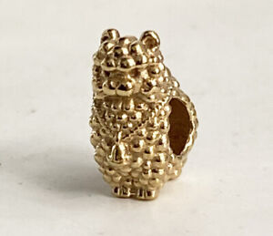 PANDORA Fluffy Llama Charm 14K Gold Vermeil Plated 799069C00