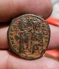 Phocas and Leontia 602-610 Ad, M -Reverse . Byzantine Empire . Antioch