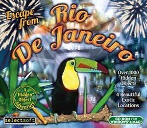 Escape from Rio de Janeiro  a Hidden Object Adventure  Win Vista 7 8 10 MAC  NEW