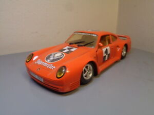BBURAGO VINTAGE 1980'S PORSCHE 959  1:24 SCALE VERY GOOD CONDITION