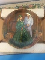 SCARLETT'S GREEN DRESS - GONE WITH THE WIND - Knowles Ltd Ed Plate # 7 - 1984