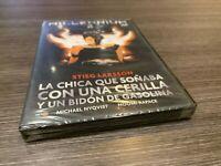Millennium 2 DVD la Bambina che Ho Sognato con una Fiammiferi Y un Tanica in New