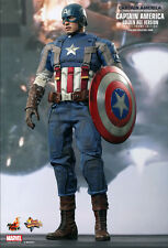 HOT TOYS CAPTAIN AMERICA 2 WINTER SOLDIER GOLDEN AGE MOVIE PROMO 1:6 Scale