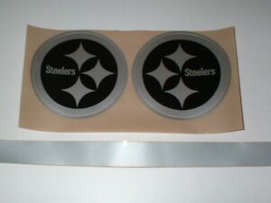 PITTSBURGH STEELERS `` BLACK ICE`` FULL SIZE FOOTBALL DECALS