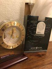 howard miller Mantel Clock World Continent Map Unique Gold Color 645-626