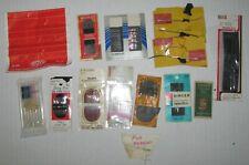 Vintage lot Sewing Needles cases advertising - Singer, Risdon, Brabant'S, Etc.