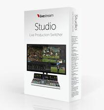 Livestream Studio Software v4.5 (with free upgrades for life) - 4 PACK
